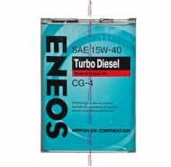 ENEOS TURBO 15W40 CG-4 Масло моторное 0,94л.
