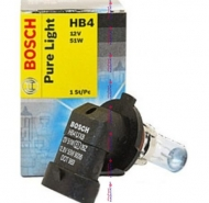 HB4 Авто лампа 12V 51W PURE LIGHT BOSCH