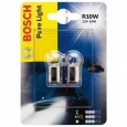 R10W Лампа 12 V  PURE LIGHT BOSCH